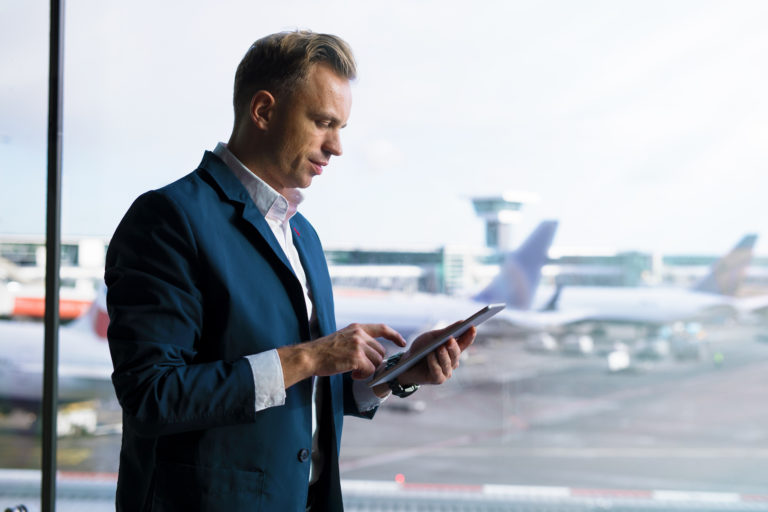 The Rudolf software is perfect for salespeople travelling